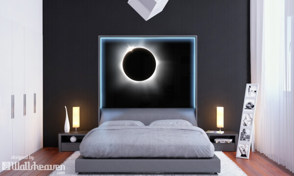 Interior design home design wallsheaven for Dark side of the moon mural
